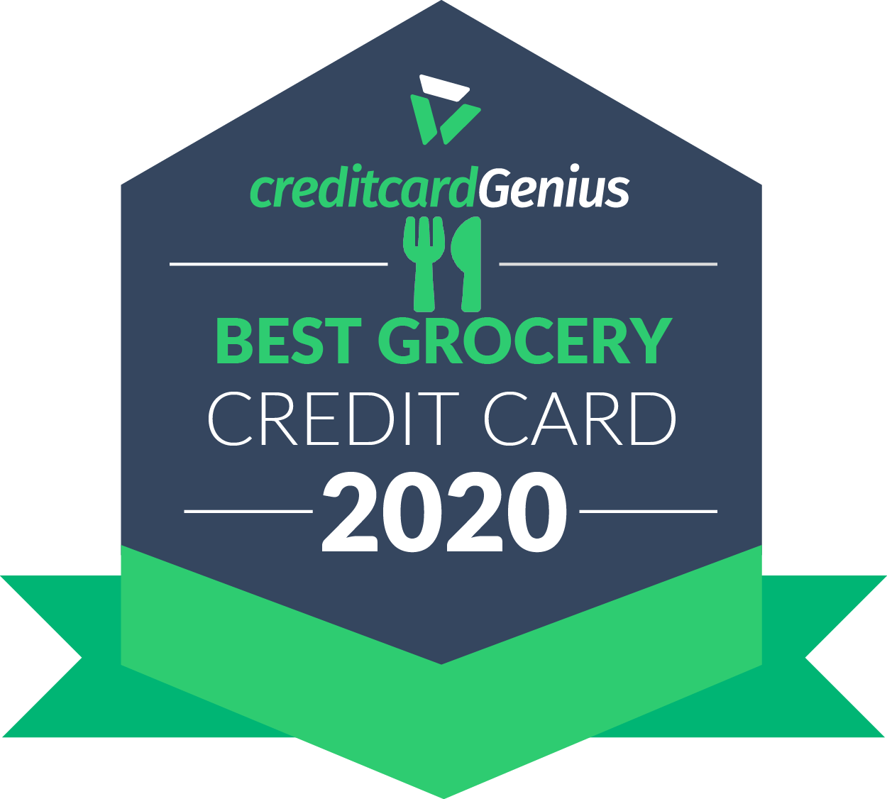 Best grocery credit card for 2020 award seal