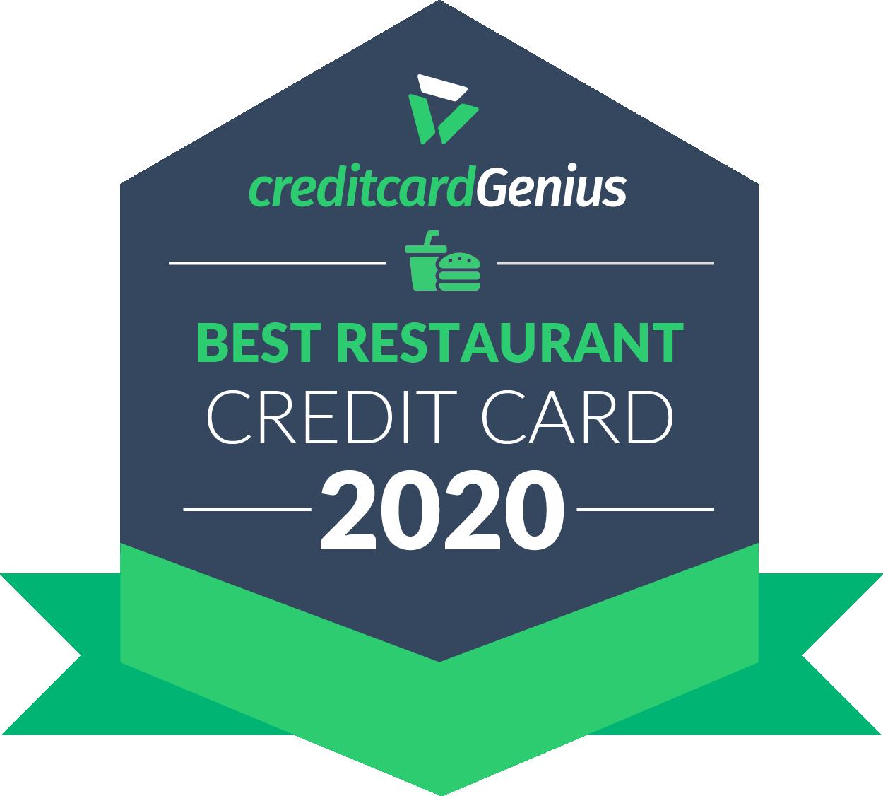 Best restaurant credit card for 2020 award seal
