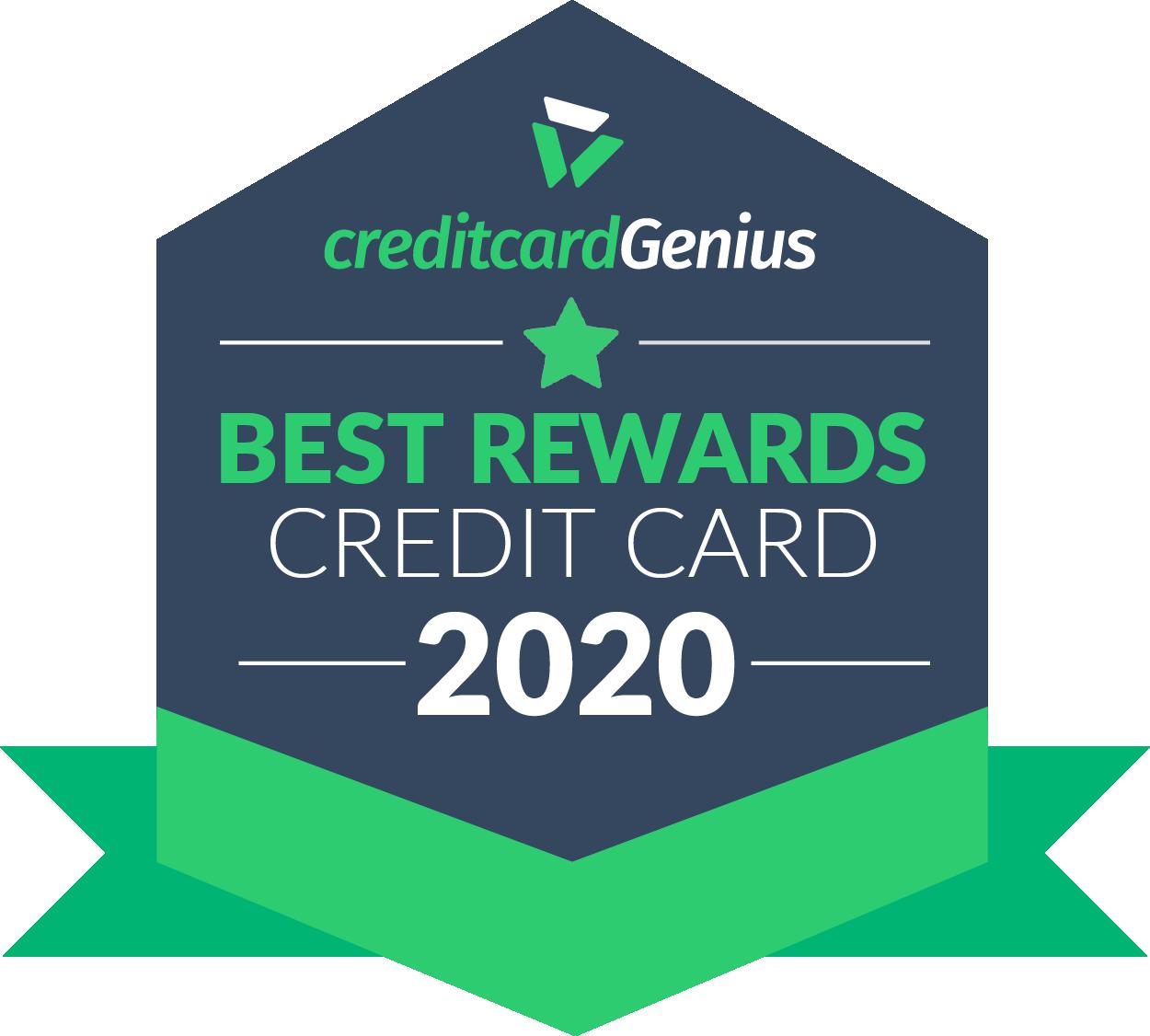 Best rewards credit card for 2020 award seal