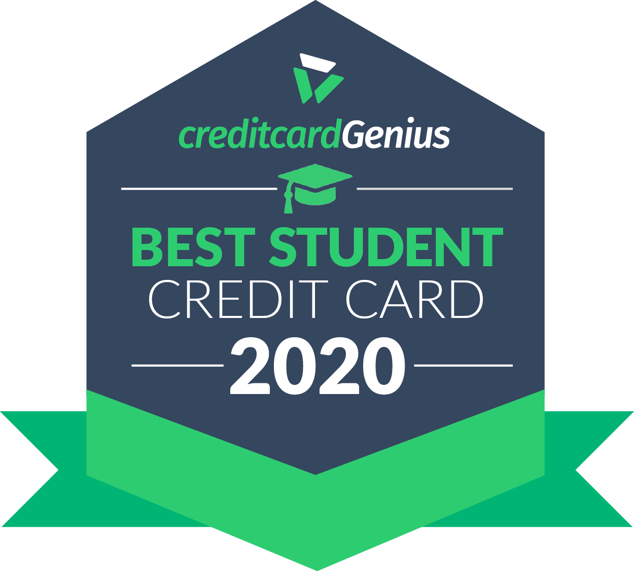 Best student credit card for 2020 award seal