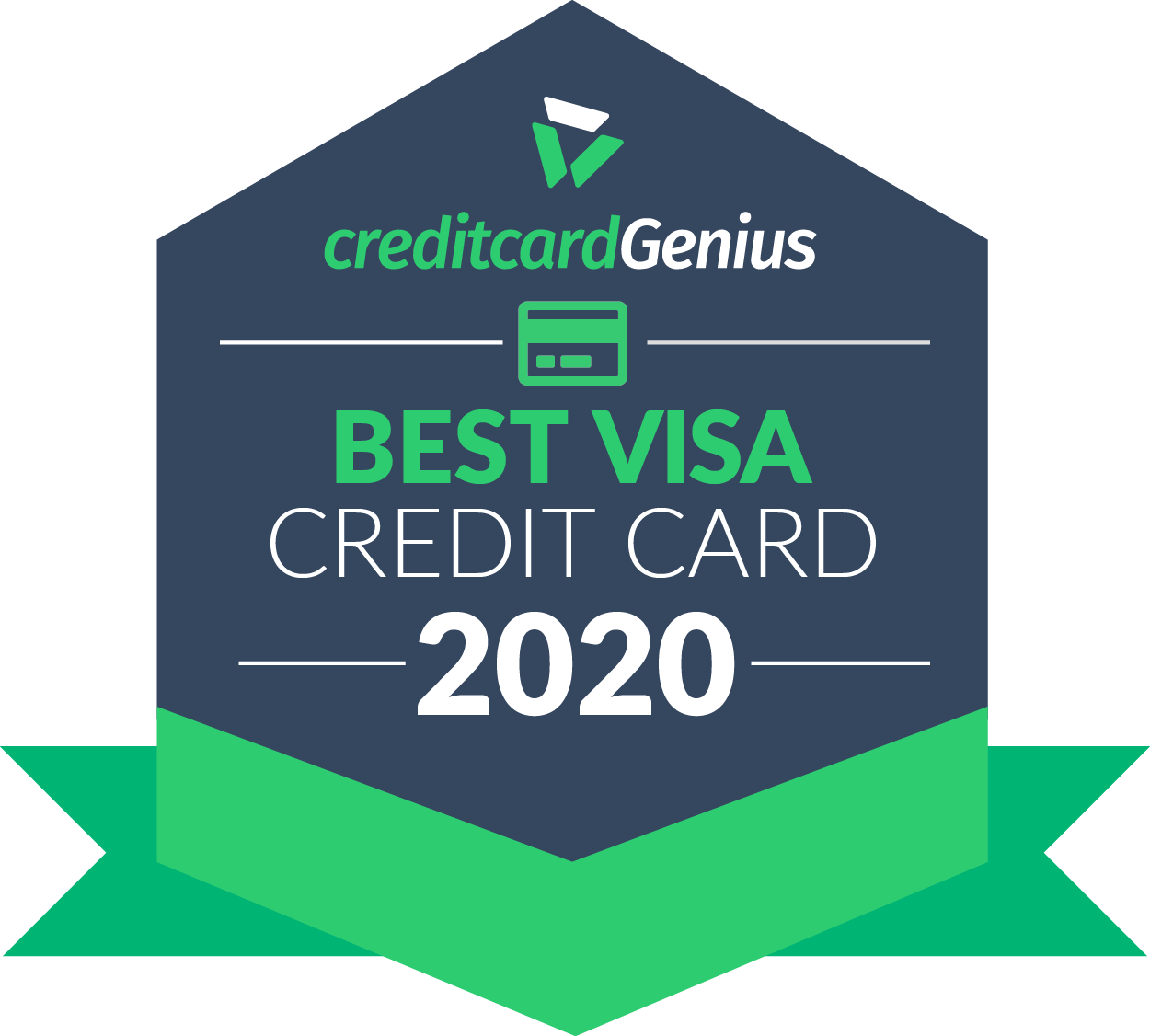 Best Visa credit card in Canada for 2020 award seal