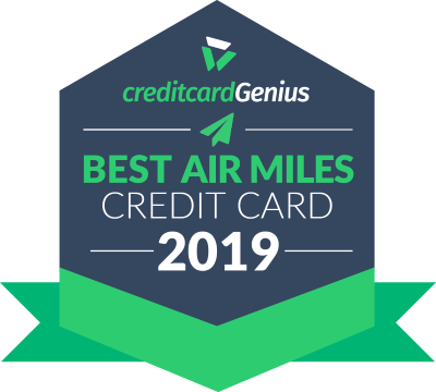 Best AIR MILES credit cards in Canada for 2019 award seal