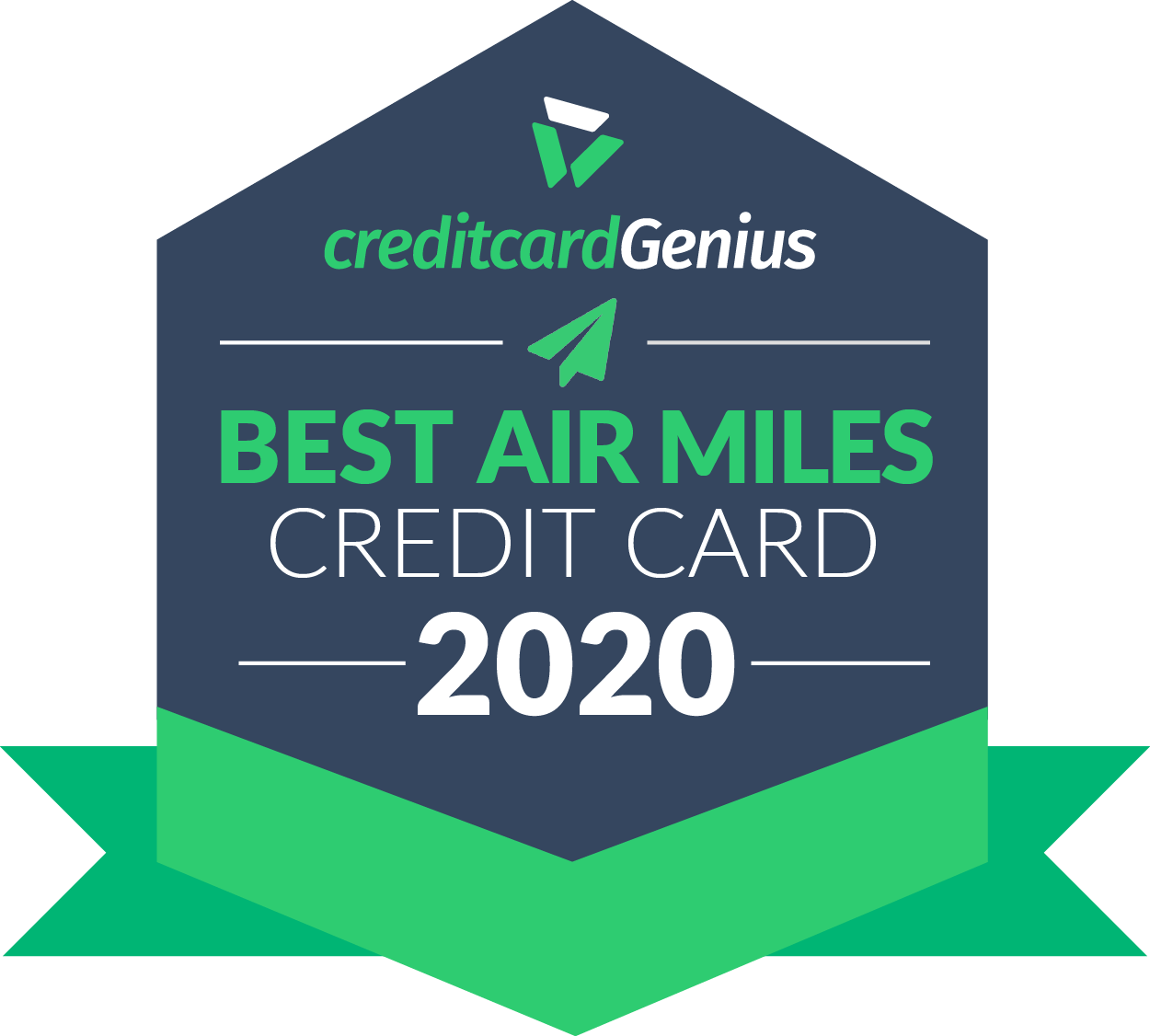 Best AIR MILES credit card in Canada for 2020 award seal