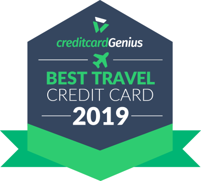 Best travel credit card in Canada for 2019 award seal