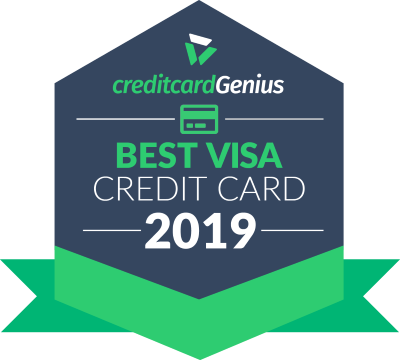 Best Visa credit cards in Canada for 2019 award seal