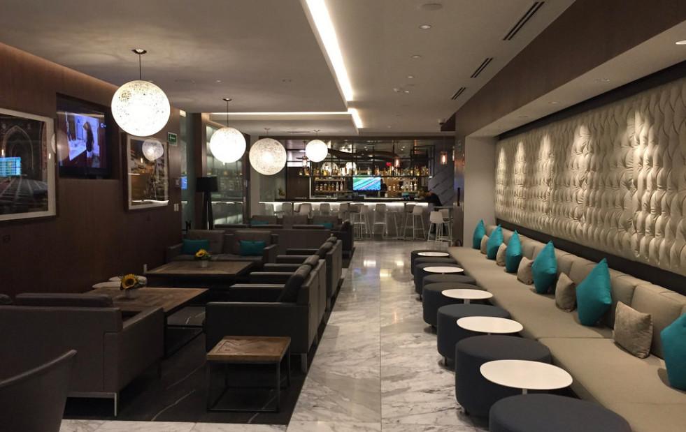 American Express Global lounge
