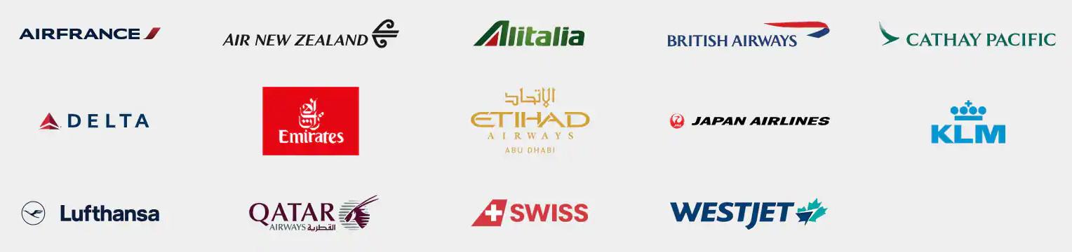 International Airline Program Partners