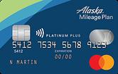 Alaska Airlines Platinum Plus Mastercard Creditcardgenius